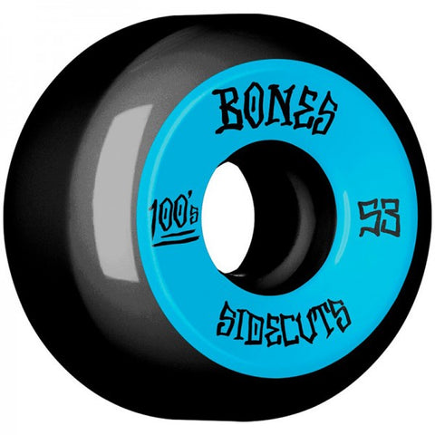 BONES 100S #2 SIDECUTS V5 BLACK 53MM