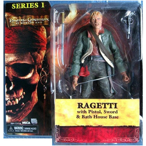 PIRATES OF THE CARIBBEAN AT WORLDS END RAGETTI DOLL