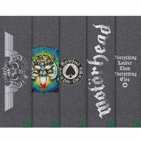 "MOB MOTORHEAD ASSORTED GRIP 9"" - Skateboards Amsterdam"