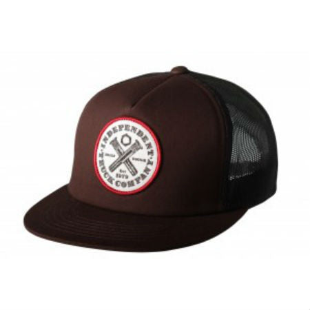INDEPENDENT BUILT TOUGH TRUCKER BROWN - Skateboards Amsterdam