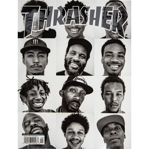 THRASHER MAGAZINE SEPTEMBER 2020