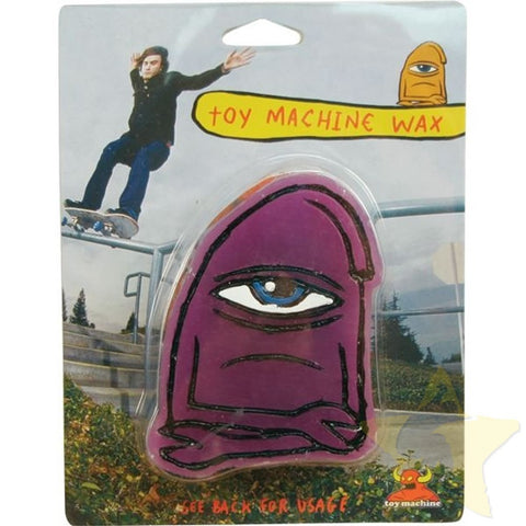 TOY MACHINE WAX PURPLE - Skateboards Amsterdam