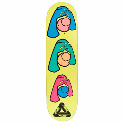 "PALACE KNIGHT HANDS 8.1"" - Skateboards Amsterdam"