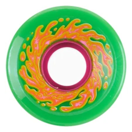 SANTA CRUZ OG MINI SLIME GREEN/PINK 78A 54.5MM