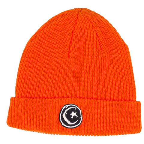 FOUNDATION STAR & MOON BEANIE ORANGE