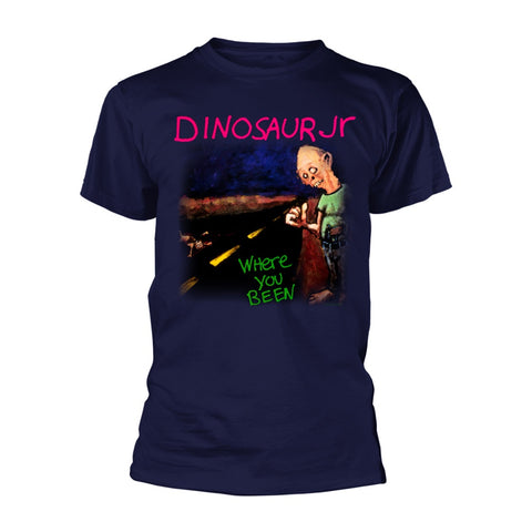 DINOSAUR JR WHERE YOU BEEN T-SHIRT NAVY