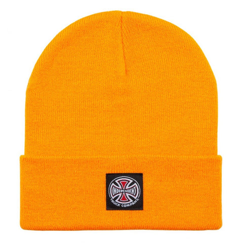 INDEPENDENT T/C LABEL BEANIE ORANGE