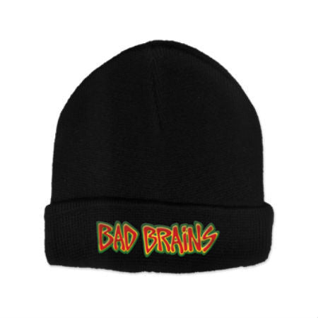 BAD BRAINS LOGO BEANIE - Skateboards Amsterdam