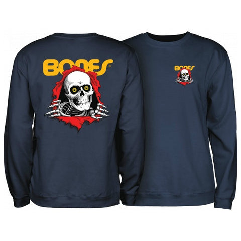 POWELL PERALTA RIPPER CREWNECK NAVY