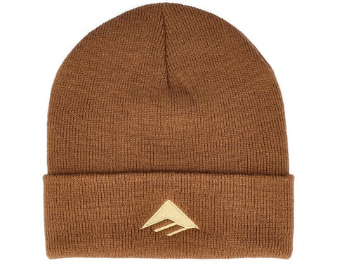 EMERICA TRIANGLE BEANIE BROWN