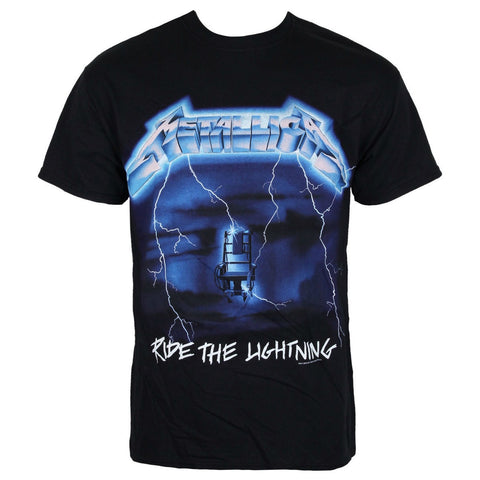 METALLICA RIDE THE LIGHTNING TRACKS T-SHIRT BLACK