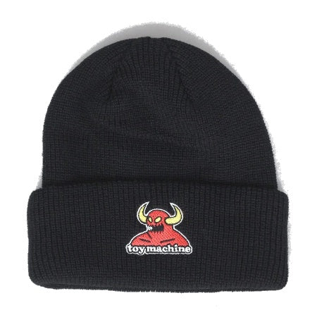 TOY MACHINE MONSTER BEANIE BLACK