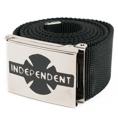 INDEPENDENT CLIPPED BELT BLACK - Skateboards Amsterdam