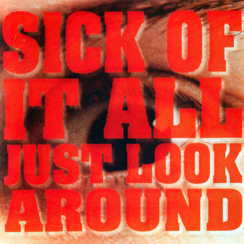 Sick Of It All-Just Look Around - Skateboards Amsterdam