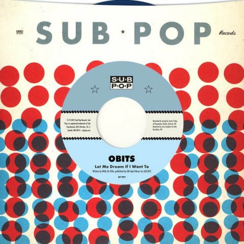 Obits-Let Me Dream If I Want To -Col Vinyl-