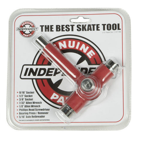 INDEPENDENT BEST SKATE TOOL RED - Skateboards Amsterdam