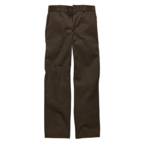 DICKIES 874 DARK BROWN CHINO - Skateboards Amsterdam - 1