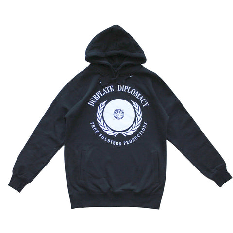 TRUE SOLDIERS PRODUCTIONS-DUBPLATE DIPLOMACY HOODIE