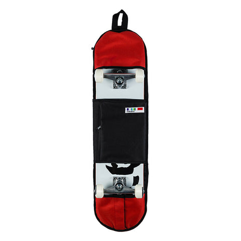 SELINGTON BURGEE SKATE BAG RED/BLACK - Skateboards Amsterdam