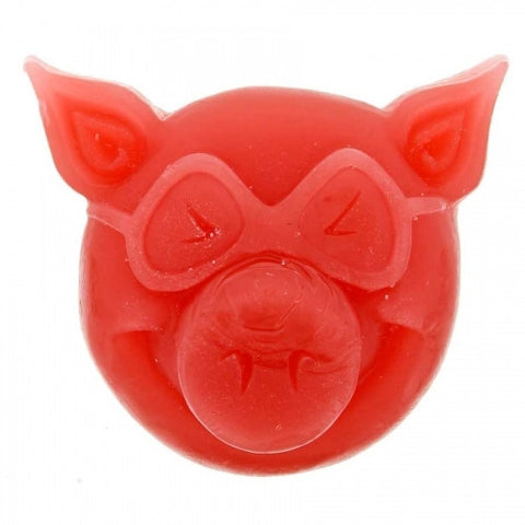 PIG HEAD WAX RED - Skateboards Amsterdam