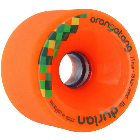 ORANGATANG DURIAN 75MM ORANGE - Skateboards Amsterdam