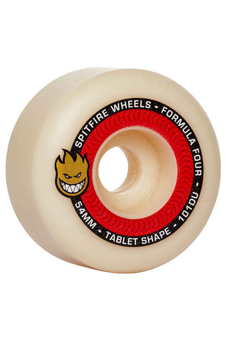 SPITFIRE FORMULA FOUR TABLETS NATURAL 101A 54MM