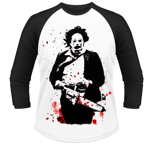 PLAN 9 TCM LEATHERFACE T-SHIRT WHITE - Skateboards Amsterdam