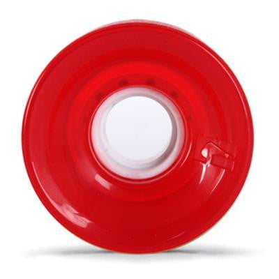 GLOBE BANTAM CLEAR RED - Skateboards Amsterdam