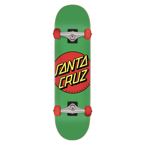 SANTA CRUZ CLASSIC DOT COMPLETE GREEN/RED 7.8