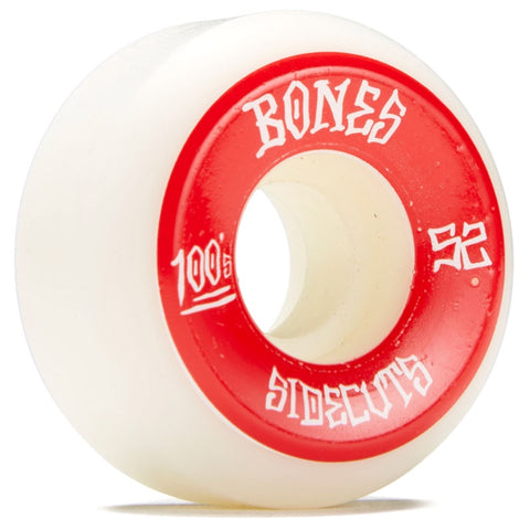 BONES 100S #2 SIDECUTS V5 WHITE 52MM