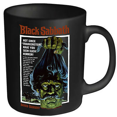 PLAN 9 BOXED MUG BLACK SABBATH POSTER
