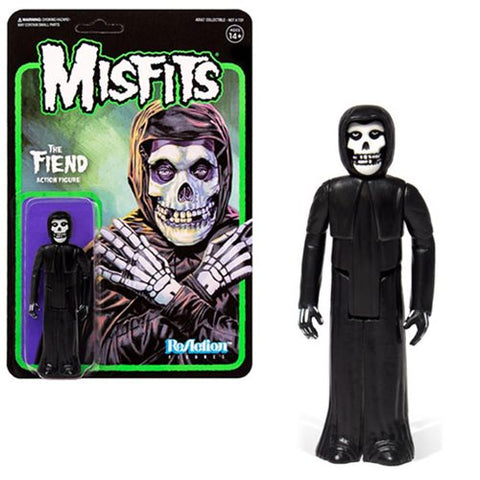 MISFITS THE FIEND MIDNIGHT BLACK REACTION FIGURE