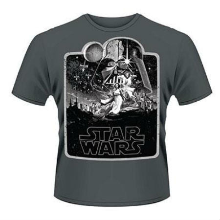 STAR WARS A NEW HOPE T-SHIRT GREY - Skateboards Amsterdam