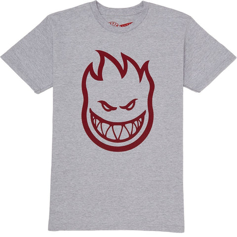 SPITFIRE BIGHEAD T-SHIRT ATHLETIC HEATHER