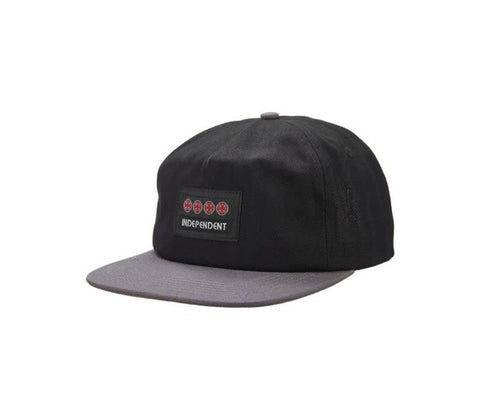 INDEPENDENT MANNER CAP BLACK