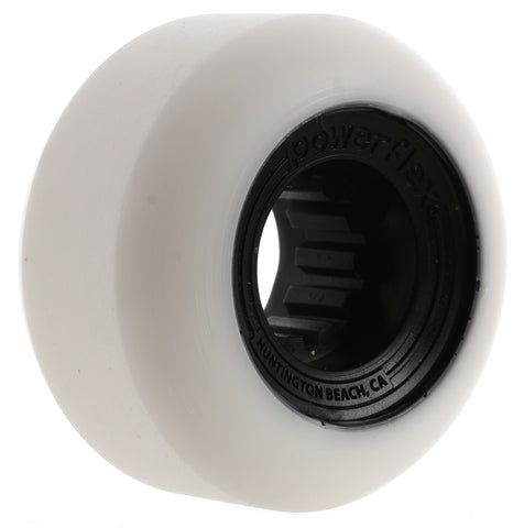 POWERFLEX GUMBALL 54MM WHITE/BLACK