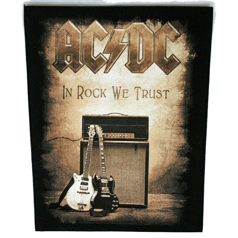 AC/DC IN ROCK WE TRUST BACKPATCH