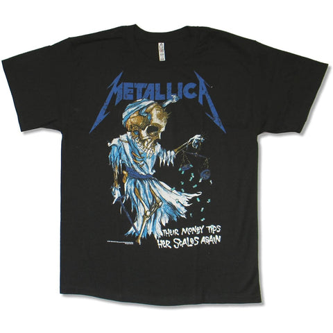 METALLICA DORIS T-SHIRT BLACK