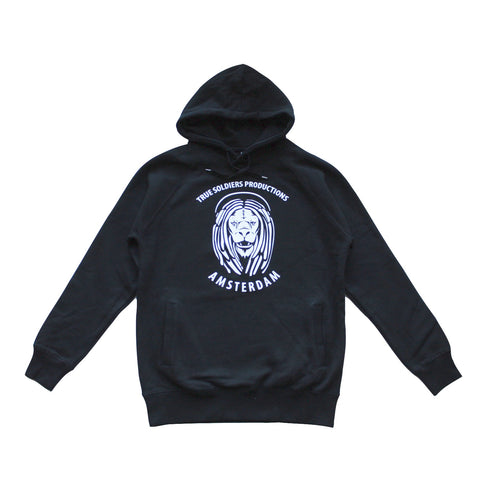 TRUE SOLDIERS PRODUCTIONS-AMSTERDAM LION HOODIE