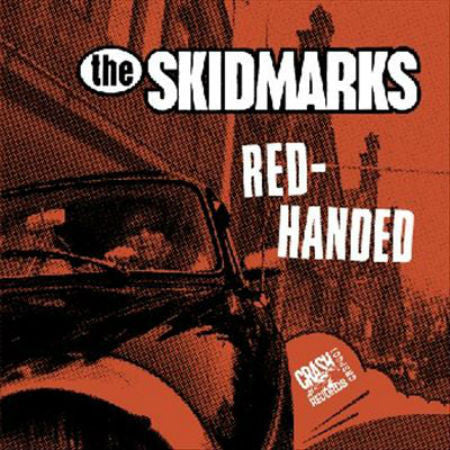 Skidmarks-Red Handed - Skateboards Amsterdam