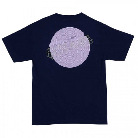 QUASI WIRED T-SHIRT NAVY - Skateboards Amsterdam