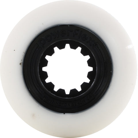 POWERFLEX GUMBALL 52MM WHITE/BLACK