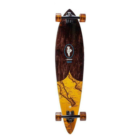 "ARBOR FISH GROUNDSWELL MAP 37"" COMPLETE PINTAIL"