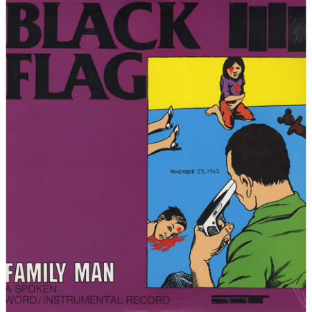 Black Flag-Family Man - Skateboards Amsterdam