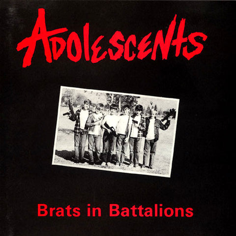 Adolescents-Brats In Battalions - Skateboards Amsterdam