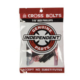INDEPENDENT CROSS BOLTS 7/8 PHILLIPS HEAD BLACK/RED
