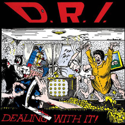 D.R.I.-Dealing With It - Skateboards Amsterdam