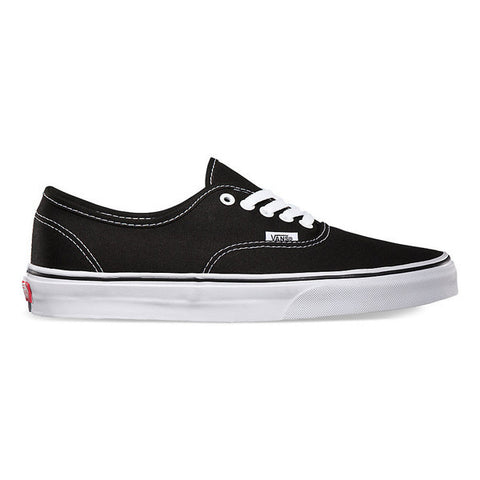 VANS AUTHENTIC BLACK - Skateboards Amsterdam - 1