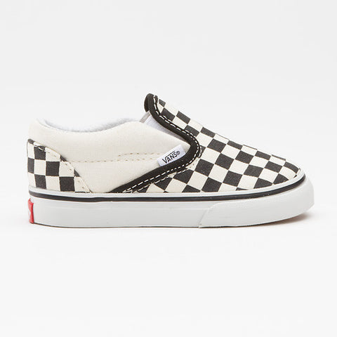 VANS SLIP-ON VEX8BWW BLACK/WHITE CHECKERBOARD - Skateboards Amsterdam - 1