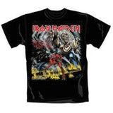 IRON MAIDEN NUMBER OF THE BEAST T-SHIRT BLACK - Skateboards Amsterdam - 2